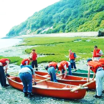 outdoor team building events wales North Wales